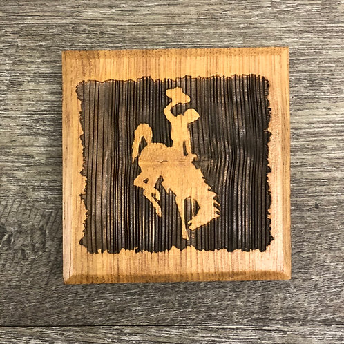 Timeless Collections Bucking Horse Set of 4 Coasters