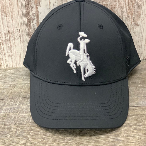 Top of the World Black Hat w/ white Steamboat