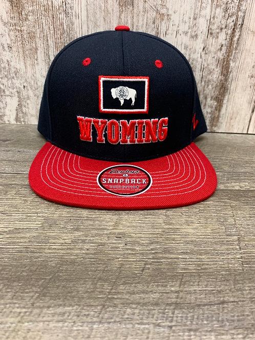 Wyoming SnapBack Cap