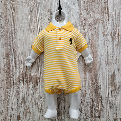 Creative Knitwear Infant Bucking Horse Striped Polo