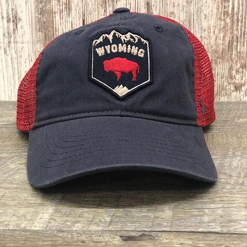 Zephyr  Men's Wyoming Buffalo Hat