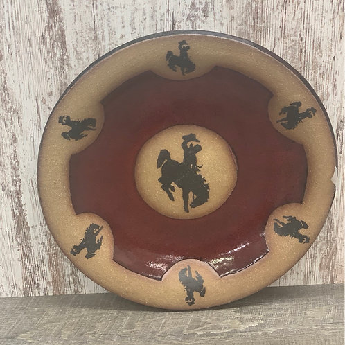 Always Azul Pottery large plate