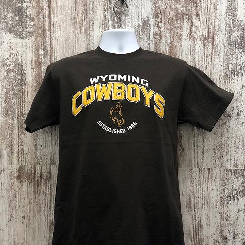 CI Sport Men's Wyoming Cowboys Tee Shirt