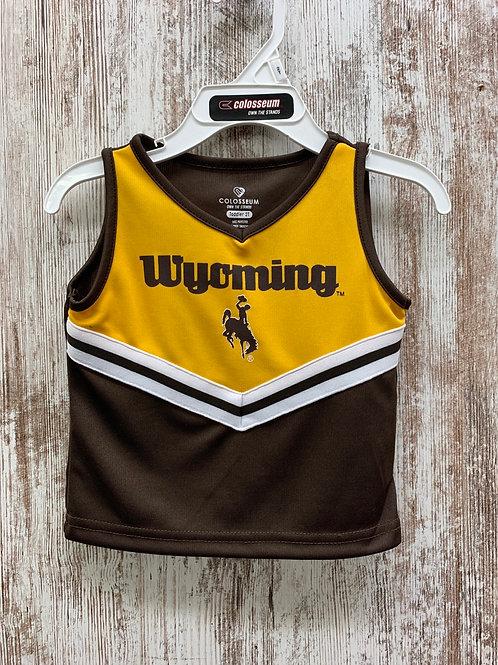 Girls Wyoming Cheerleader Set