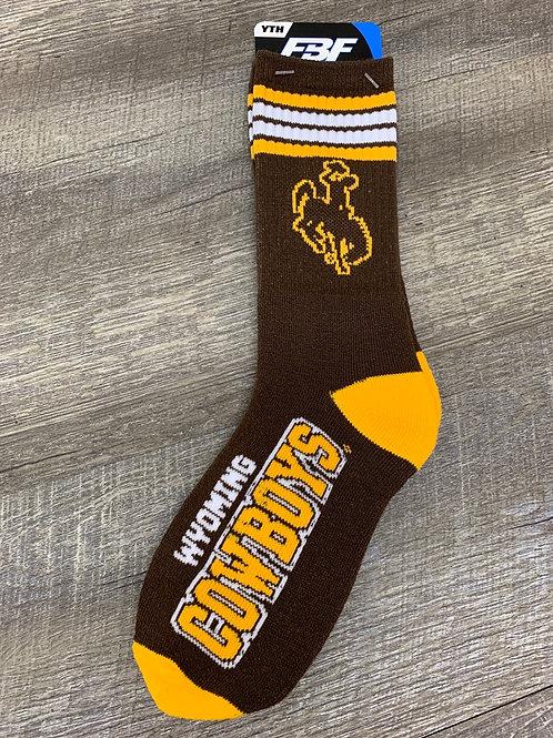 Youth Wyoming Socks