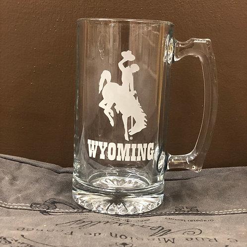 25 oz. Wyoming Cowboys Mug