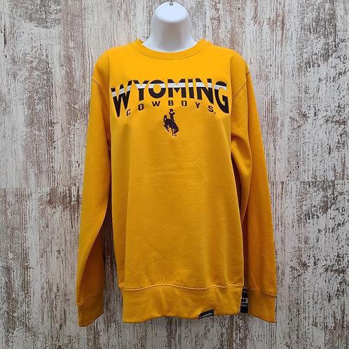 CI Sport Men's Wyoming Crewneck Sweatshirt