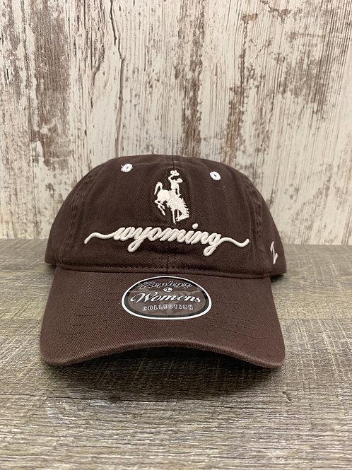 Women's Brown Wyoming Cap