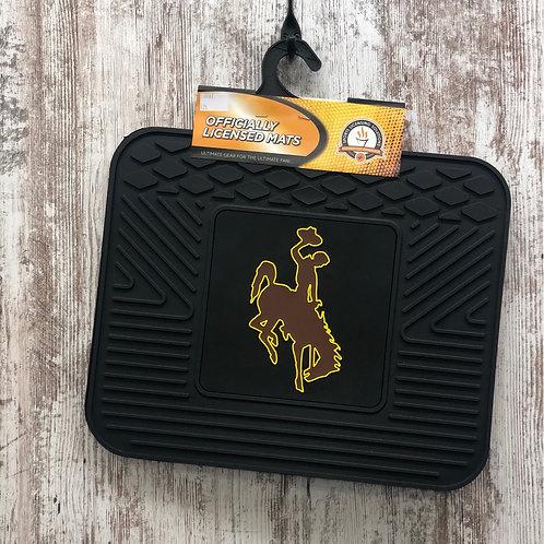 Fan Mat Bucking Horse Floor Mat