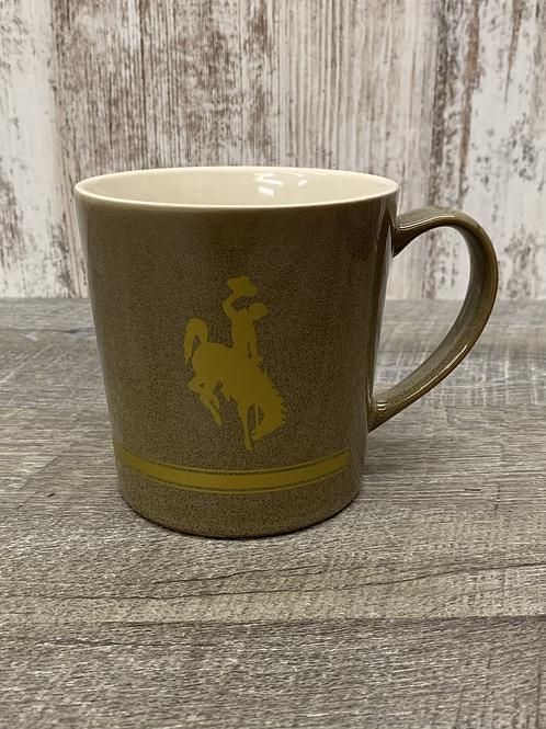 Brown Bucking Horse Mug