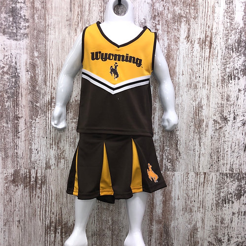 Colosseum Youth Wyoming Cheerleading Outfit
