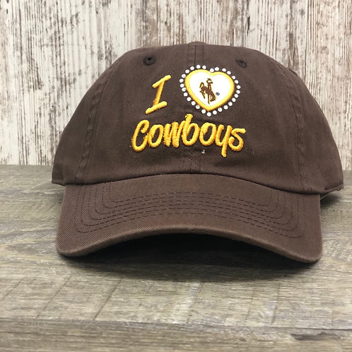 Top Of The World Women's I 🖤 Cowboys Hat