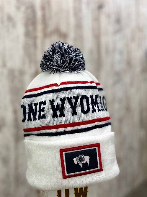 One Wyoming Stocking Cap