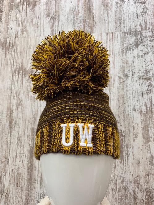 Brown and Gold UW cap