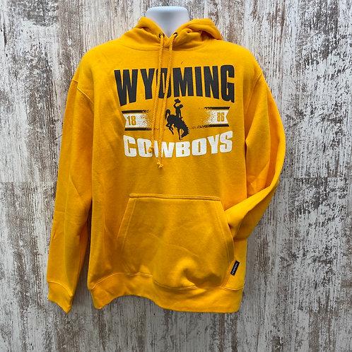 CI Sport Men's Wyoming Cowboys 1886 Hoodie
