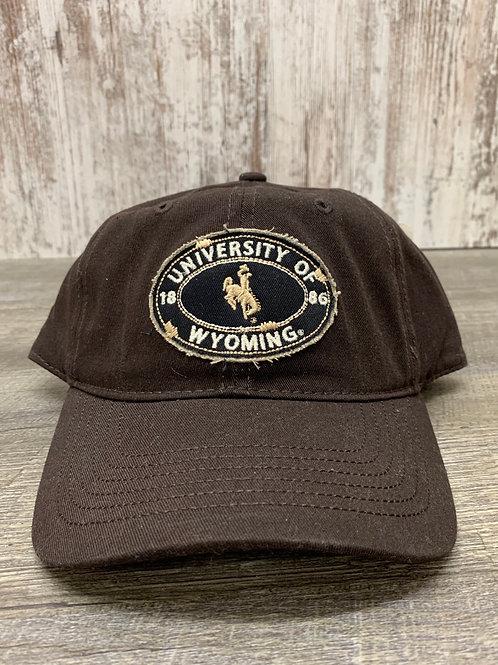 Wyoming Cap with Bucking Horse