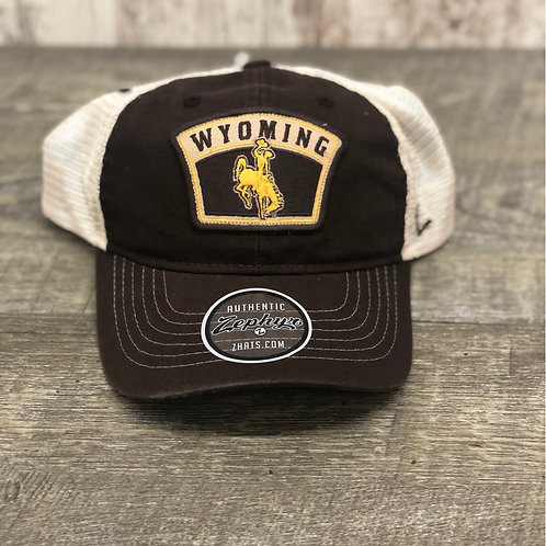 Zephyr Wyoming Cowboy Patch Hat