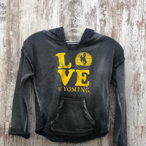 MV Sports Youth Wyoming Love Hoodie