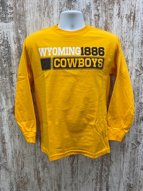 Wyoming Cowboys long sleeve tee