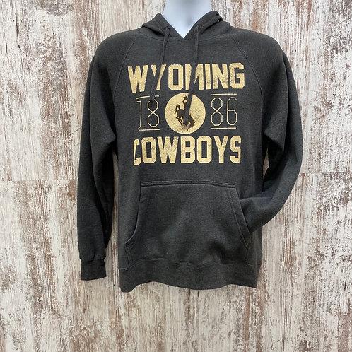 CI Sport Men's 1886 Wyoming Cowboys Hoodie