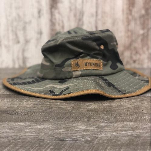 Zephyr Camo Wyoming Bucket Hat