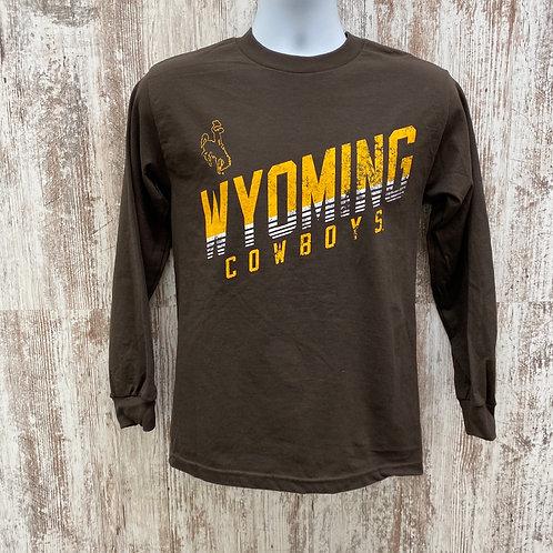 CI Sport Men's Wyoming Cowboys Long Sleeve Tee Shirt