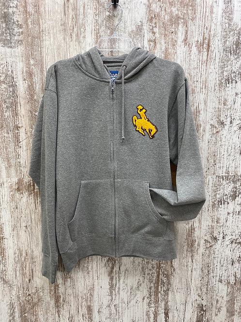 Buckinghorse full zip hooded sweatshirt