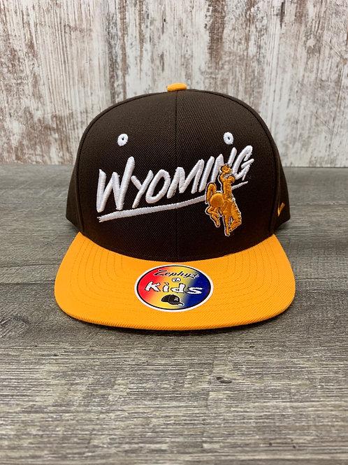 Kids Wyoming Cap