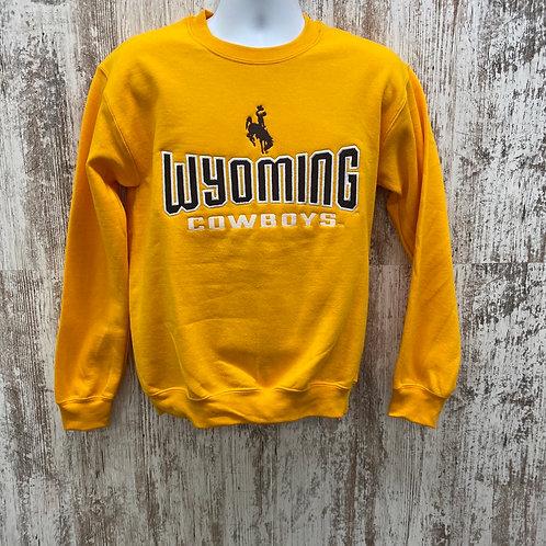 CI Sport Men's Wyoming Cowboys Crewneck