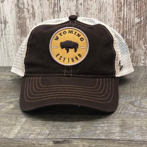 Zephyr Men's Wyoming EST 1890 Hat