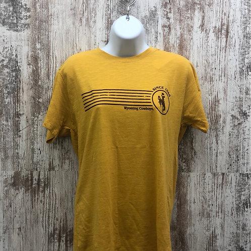 MV Sport Men's Wyoming Cowboys Tee Shirt