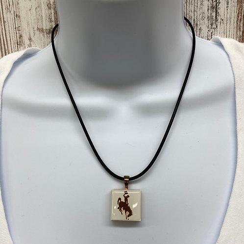 Lifetiles Bucking Horse Necklace