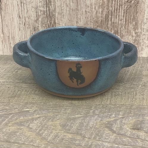 Always Azul Pottery Soup Bowl