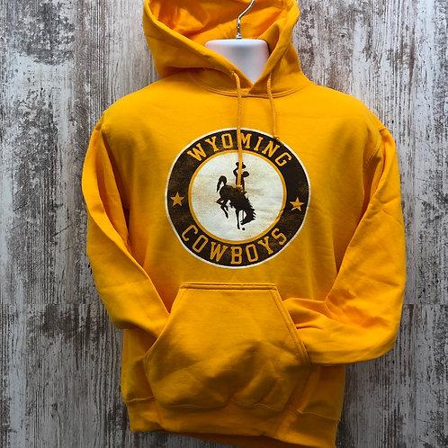 MV Sport Men's Wyoming Cowboys Hoodie