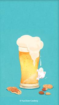 啤酒芽米貓