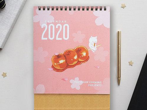 Yuz Draw Cooking【2020食物插畫桌上月曆】