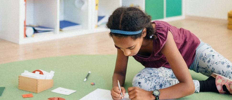 Montessori, arbeiten