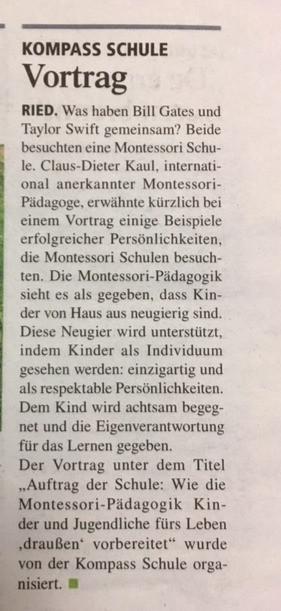 Vortrag Claus-Dieter Kaul