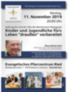Vortrag Claus-Dieter Kaul in Ried im Innkreis