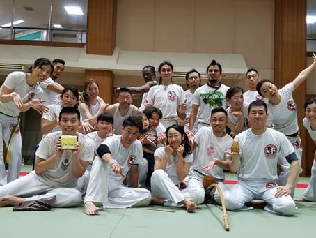 8/5 (月) カポイエラ定例オープンホーダ