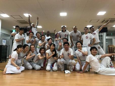 8/6 (月) カポイエラ定例オープンホーダ