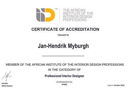 IID Certificate 2019 - Jan-Hendrik Mybur