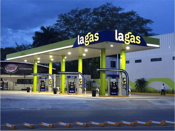 Proyecto de ingeniería eléctrica Gasolineras estacion de servicio