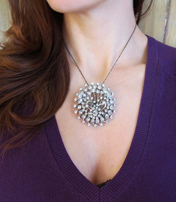 Create Convertible Brooch Pendant Necklace
