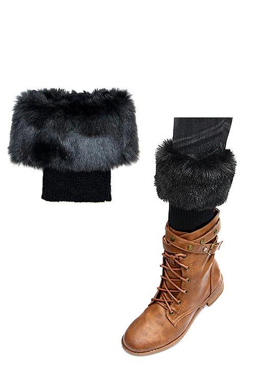 50% OFF Leg Warmer Short Boot & Boot Shoe Accessory Black Color
