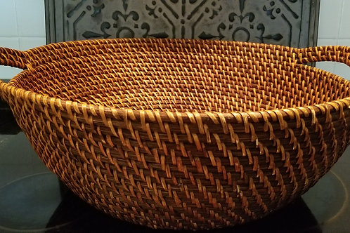 Basket, Large Tight Woven Basket