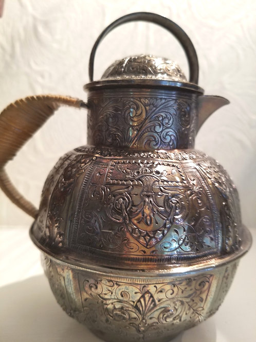Vintage Silver Small Tea Pot