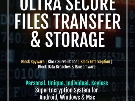 How to Encrypt a File in an Unbreakable way? Uncrackable SuperEncryption Systems