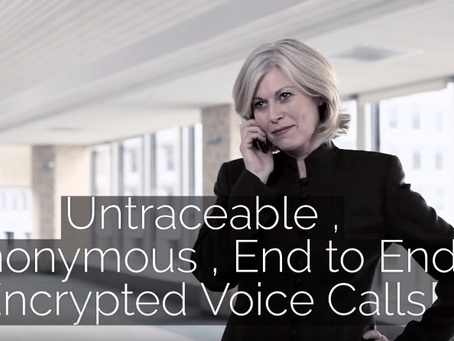 Encrygma Encrypted Phone: Untraceable Anonymous Encrypted Voice Calls with the DigitalBank Vault