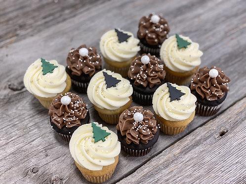 RUSTIQUE/MODERNE: Minis cupcakes